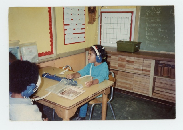 In my kindergarten classroom at Washington Elementary in Berkeley, circa 1989.